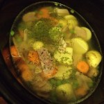 Slow Cooker Pea & Ham Soup