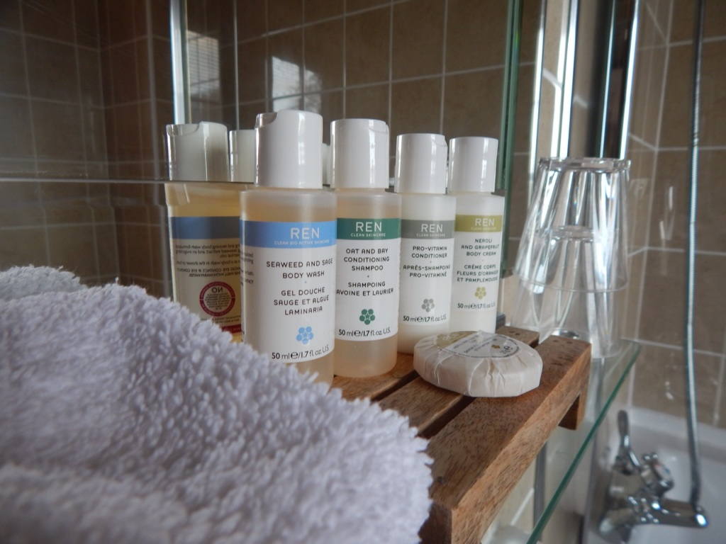Hammet house toiletries