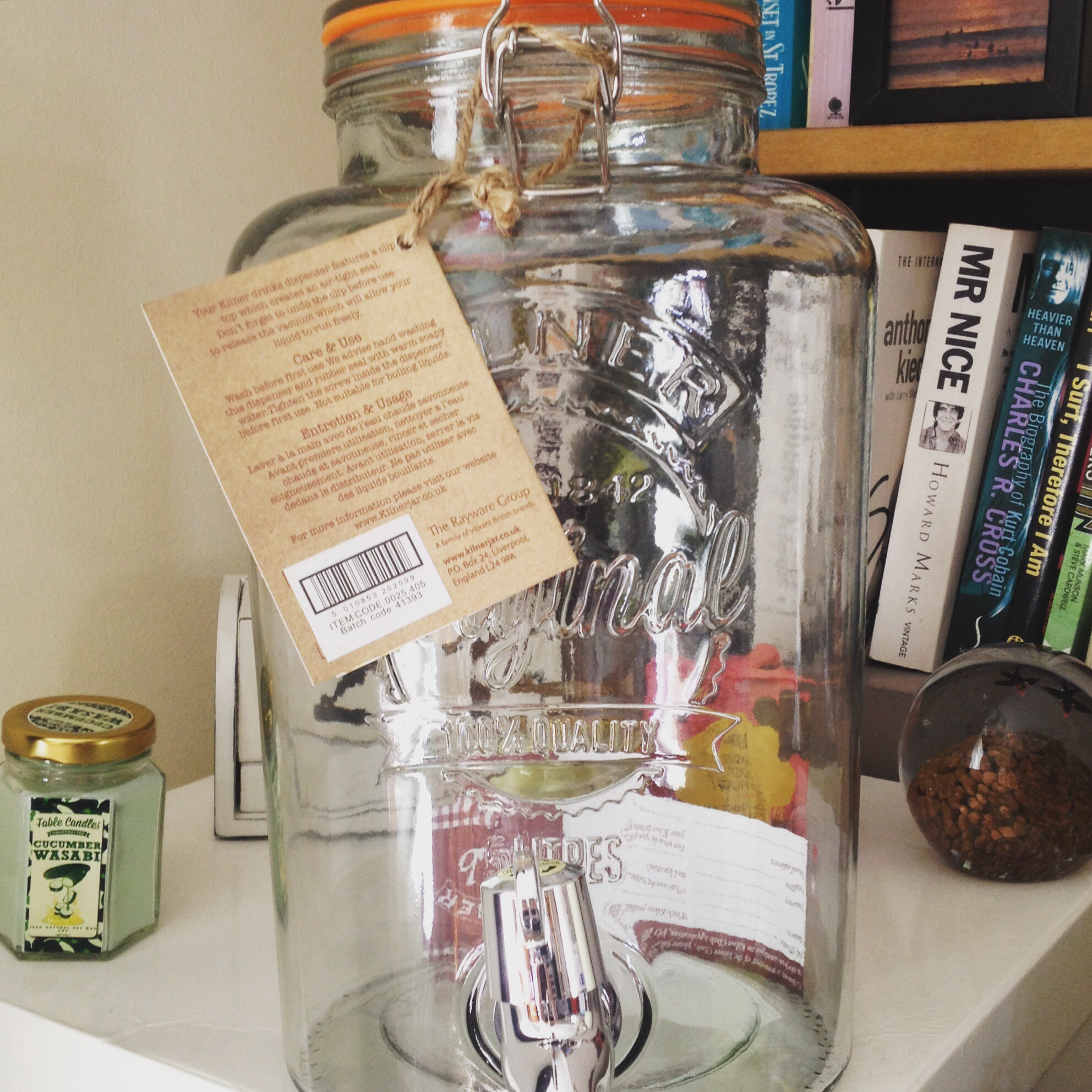 Kilner dispenser