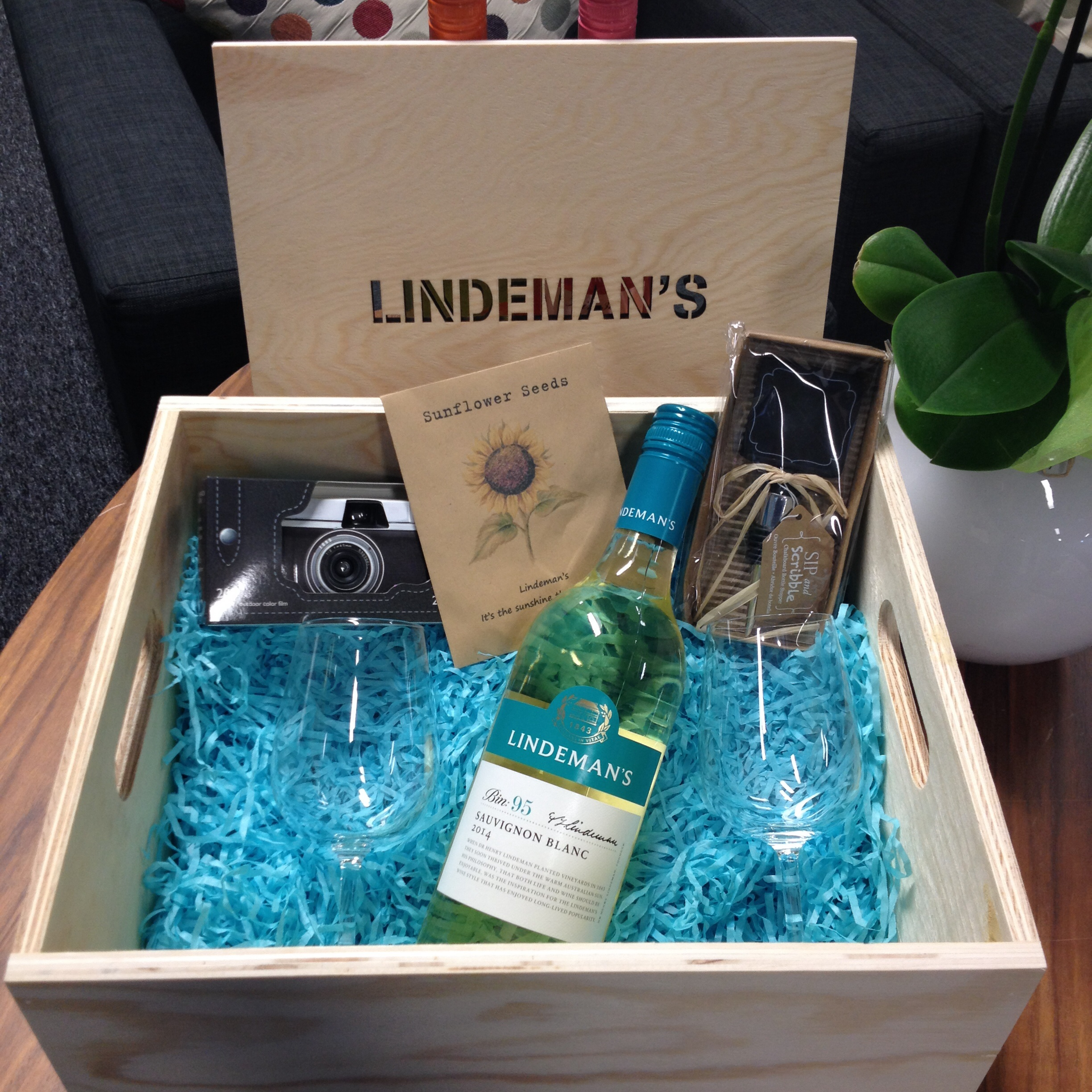 Lindemans personalised crate