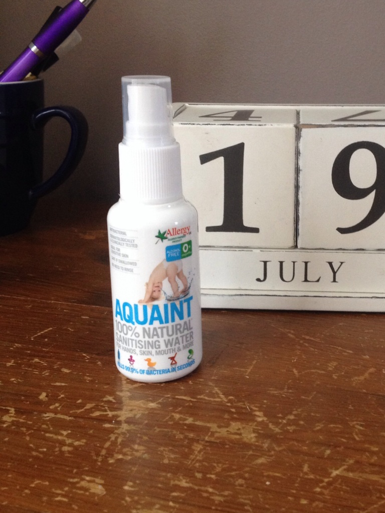 Aquaint sanitising spray