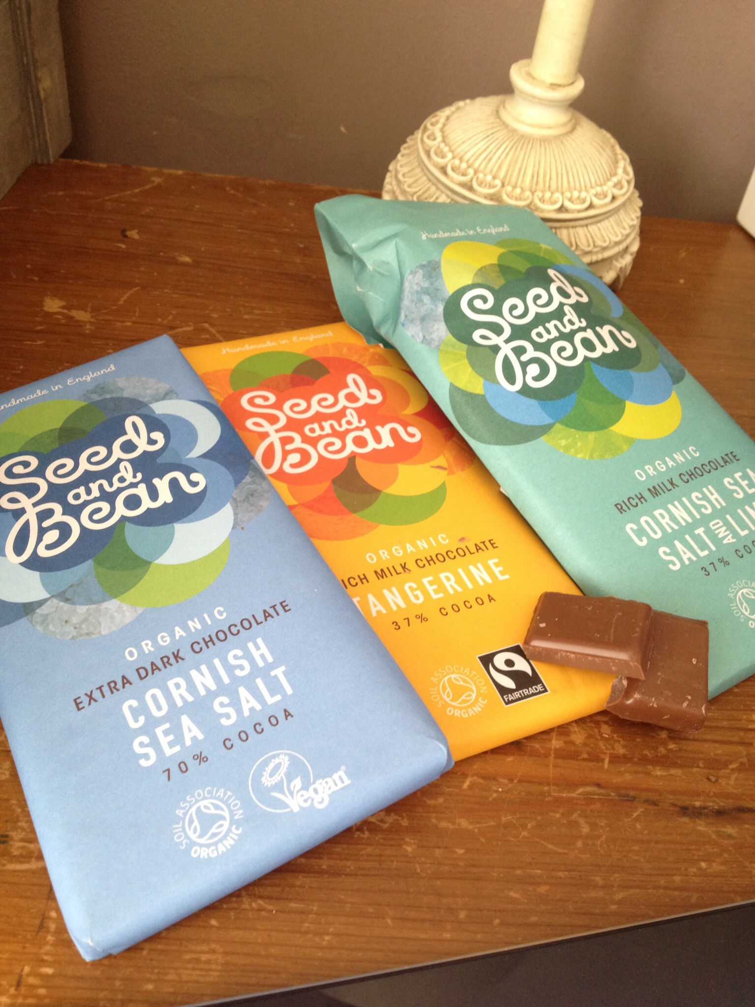 Seed and bean chocolate