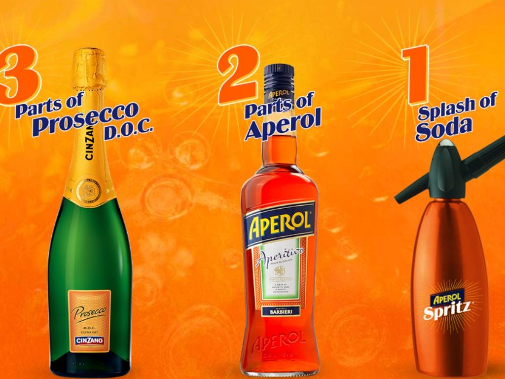 Aperol 321 Spritz