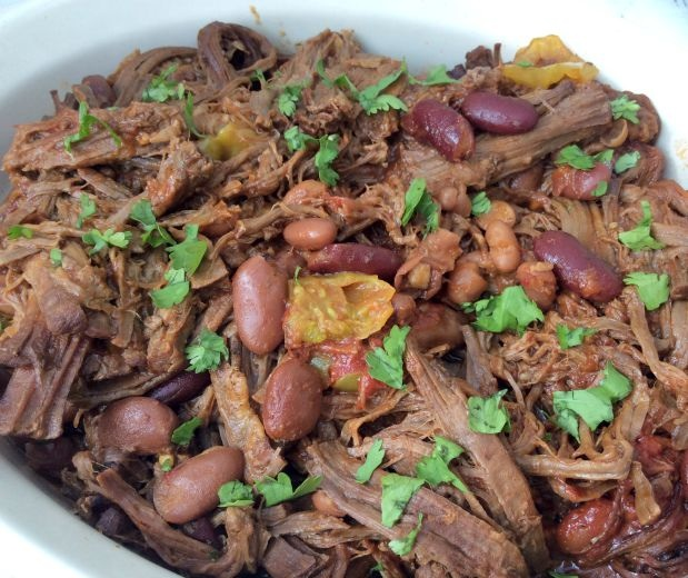 Yellow chilli brisket