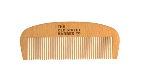 Old street barber comb