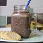Chocolate, Chai & Banana Milkshake