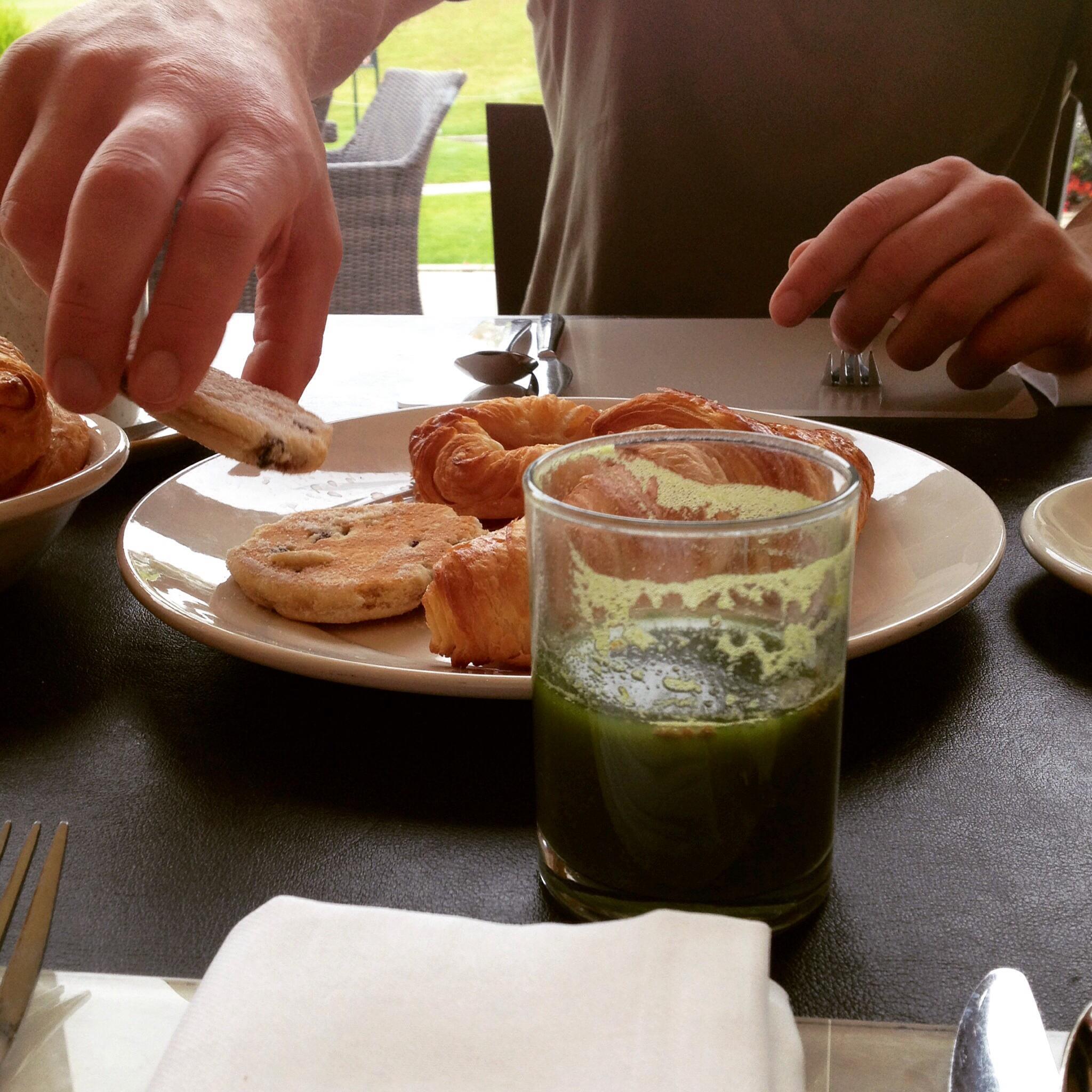 Celtic manor breakfast