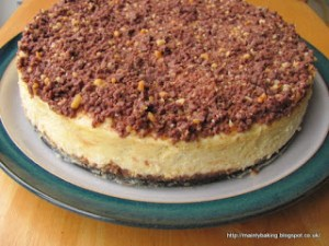 choc orange cheesecake