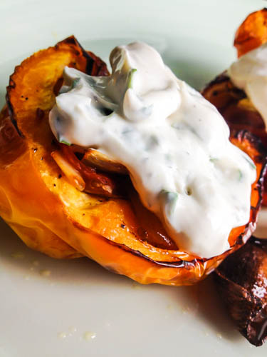 stuffed peppers creme fraiche