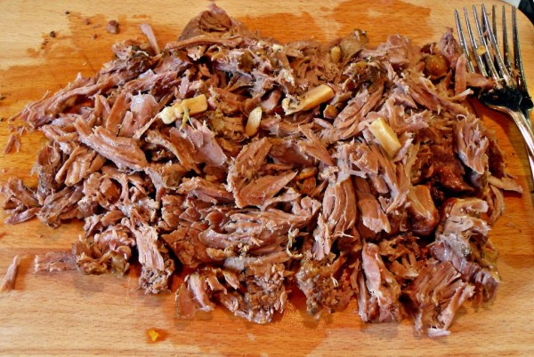 slow cooker pulled lamb