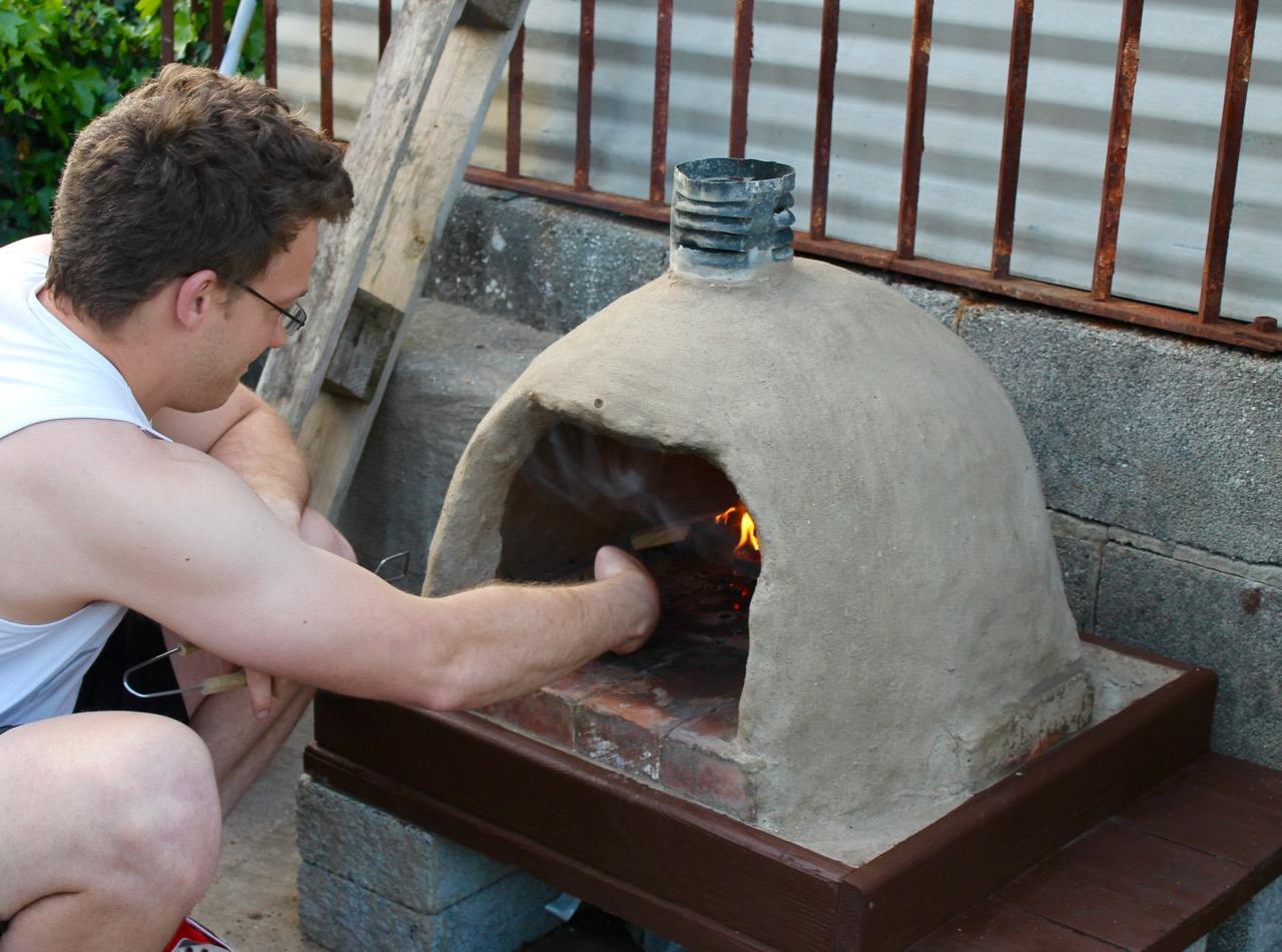 outdoor oven flatbread