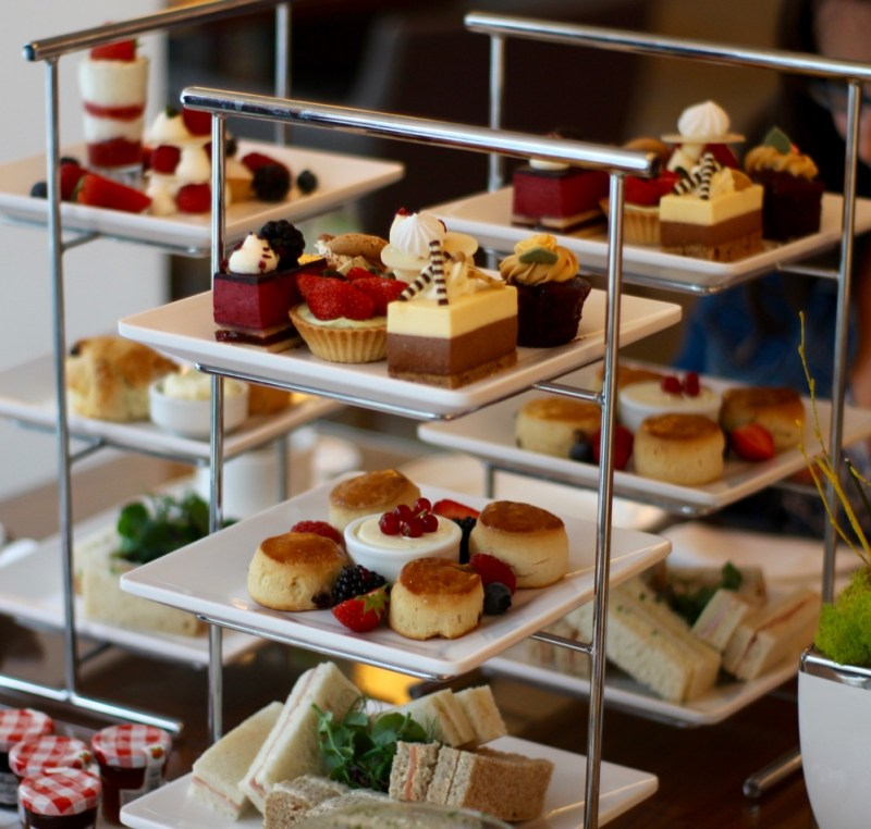 afternoon tea hilton london metropole