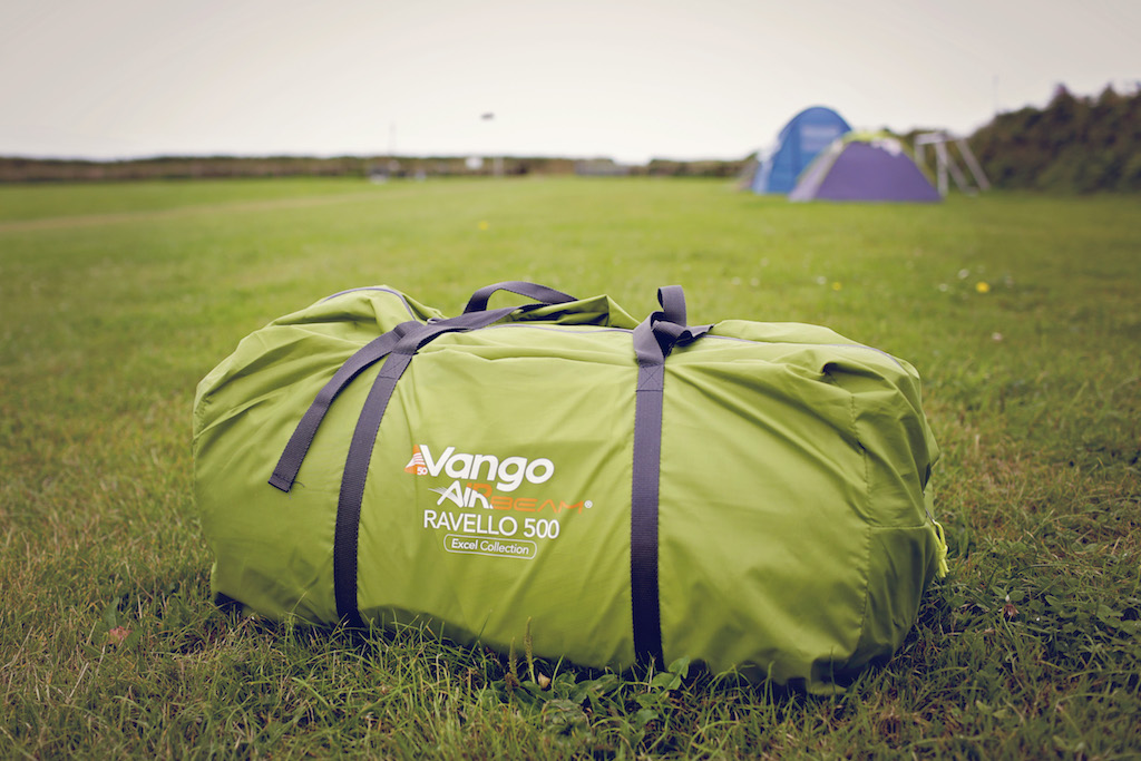 vango inflatable tent bag