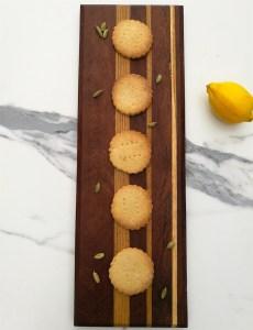 Lemon And Cardamom Shortbread