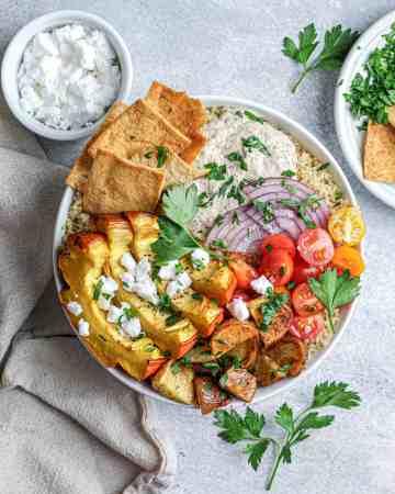 Roasted Squash & Quinoa Nourish Bowl