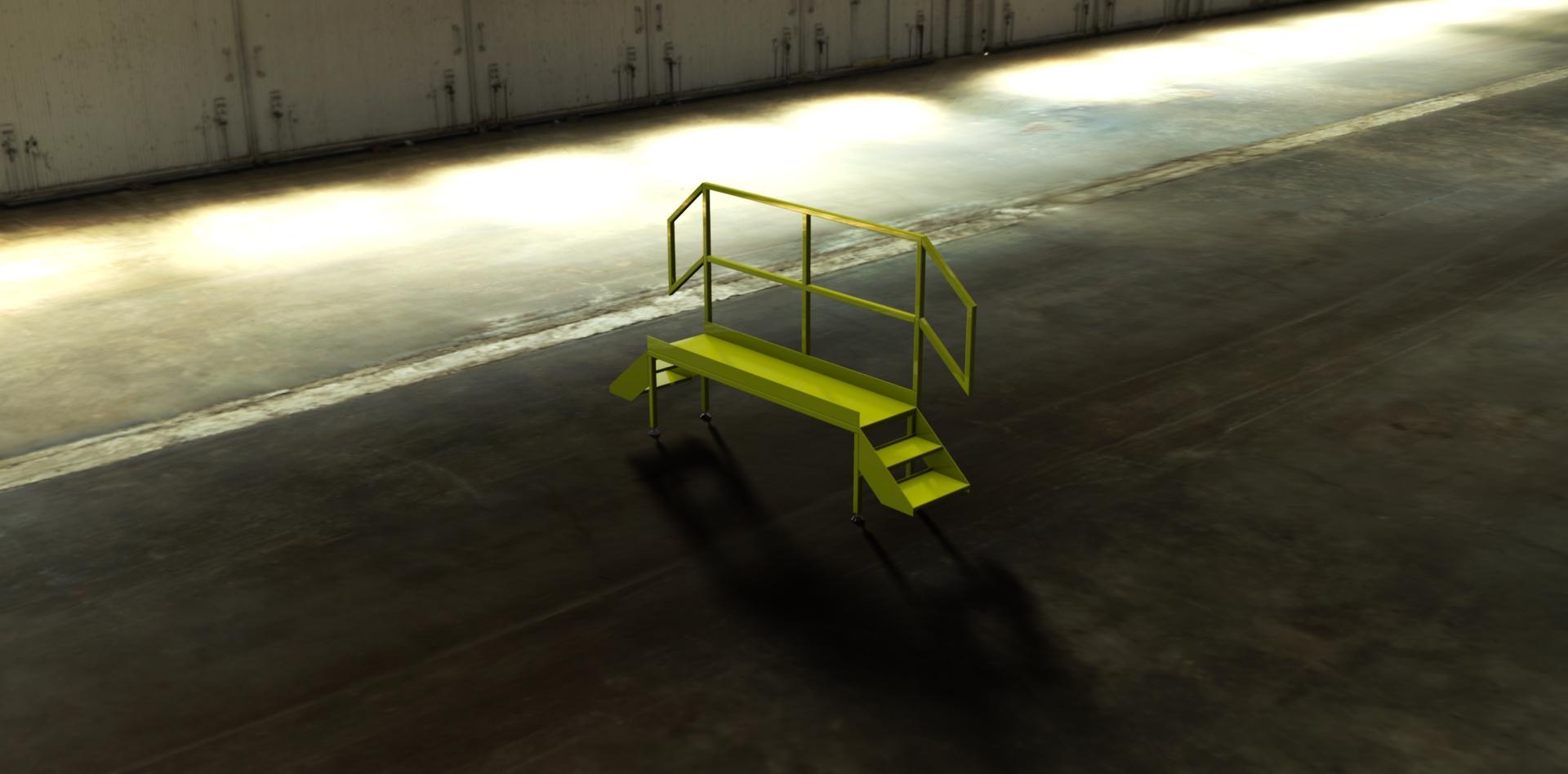 mild steel platform