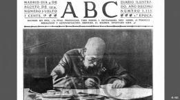 diario ABC, noticias sobre la Gran Guerra