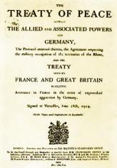 Tratado de Versalles (documento)