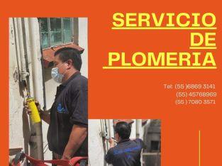 SERVICIO DE PLOMERIA EN CDMX