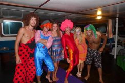 costume party aboard