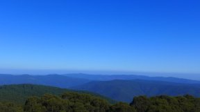 the view from Mt Donna Bueng