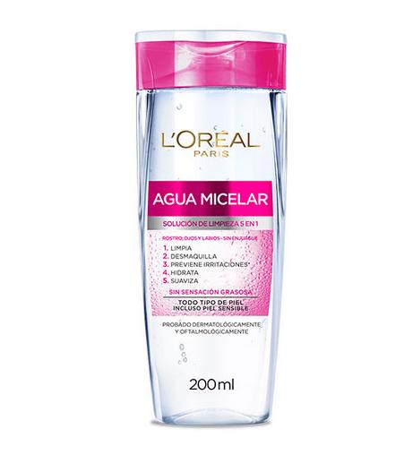 agua micelar loreal