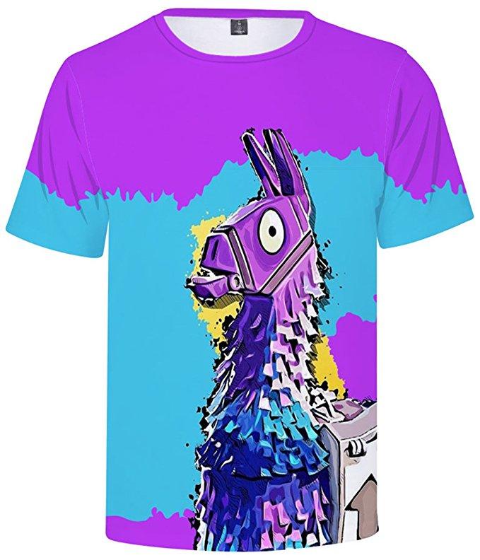 mejor sitio web replicas conseguir baratas Camiseta Llama Fortnite Unisex - Mundo Friki