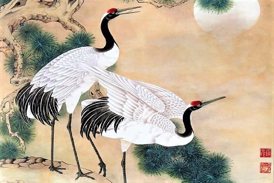 Tsuru, a ave japonesa símbolo da longevidade
