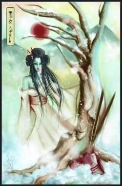 Yuki-onna (Foto: Reprodução/Arte digital Japan Meonly)