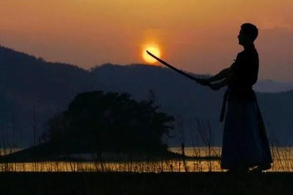 Samurai treinando (Foto: Aska)