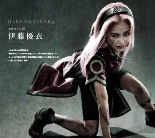 Musical Naruto - Sakura (Foto: Divulgação)