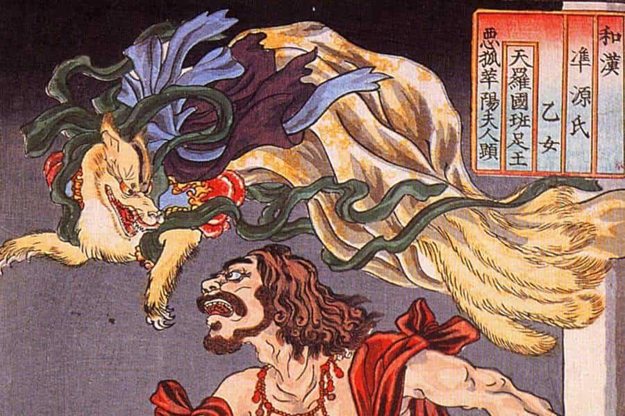 Kitsune, a raposa mística da mitologia japonesa