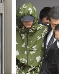 Yasuo Yamamoto foi levado á Tóquio para interrogatório (Foto: Kyodo)