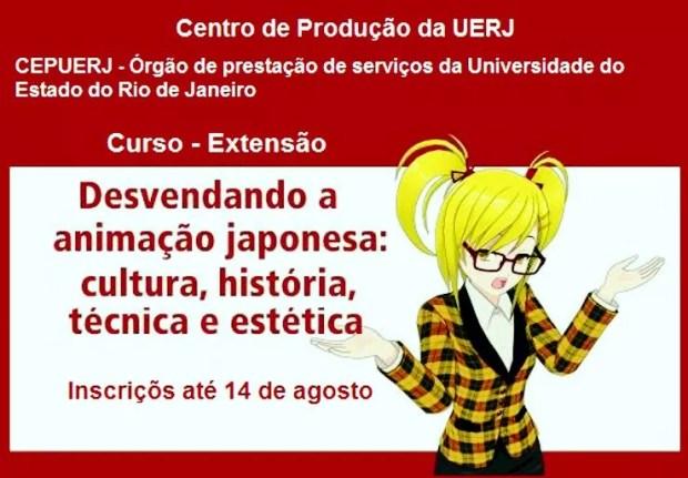Curso da UERJ sobre Animação Japonesa (Imagem/Divulgação)
