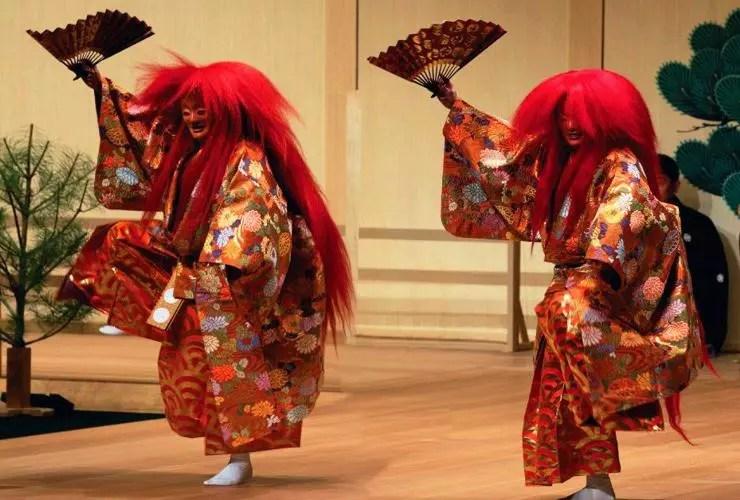 Teatro No (Foto: Kyodo)