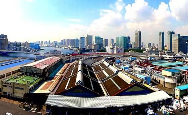 Mercado Tsukiji (Foto: Asahi Images)