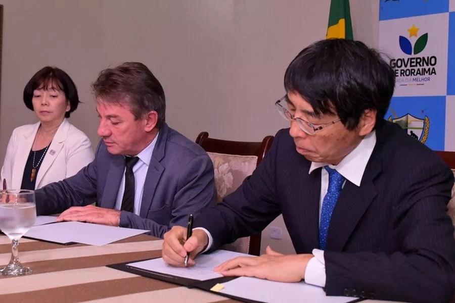 Japão doa U$ 77,4 mil ao Estado de Roraima