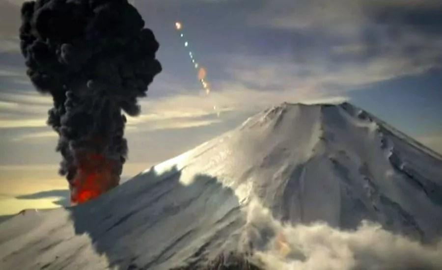 Estudo simula consequências da temida erupção do Monte Fuji