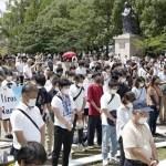 Japão lembra os 75 anos da bomba atômica em Nagasaki