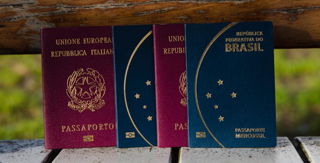 Passaportes - brasileiros com dupla cidadania em Portugal