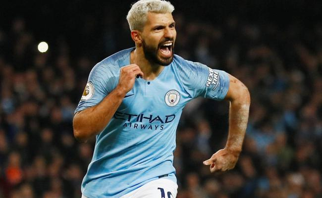Sergio Aguero Penalty Wins It For Manchester City Against
