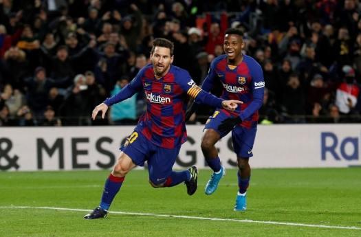 Lionel Messi scores for Barcelona in win vs. Granada ...
