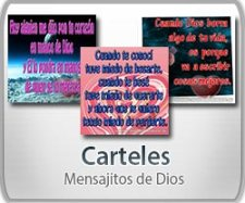 Carteles de Mensajitos de Dios