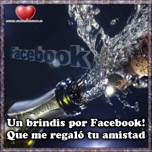 Un brindis por facebook...