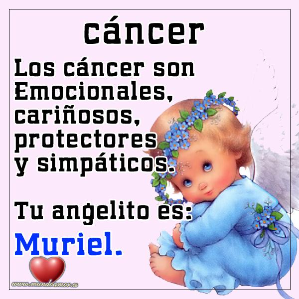 Ángel para los cáncer