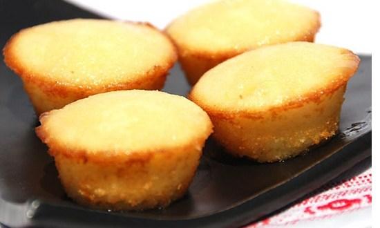 Muffins de limón