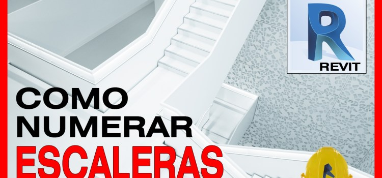 tutorial revit de numerar escalones