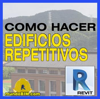 edificios links repetición revit
