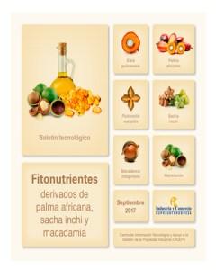 Informe fitonutrientes