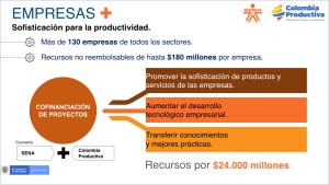 Convocatoria de Colombia Productiva